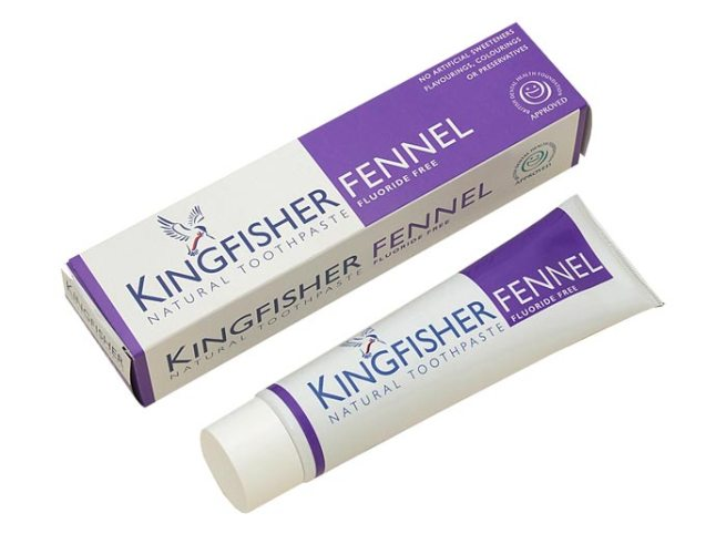 Kingfisher Toothpaste with Fennel