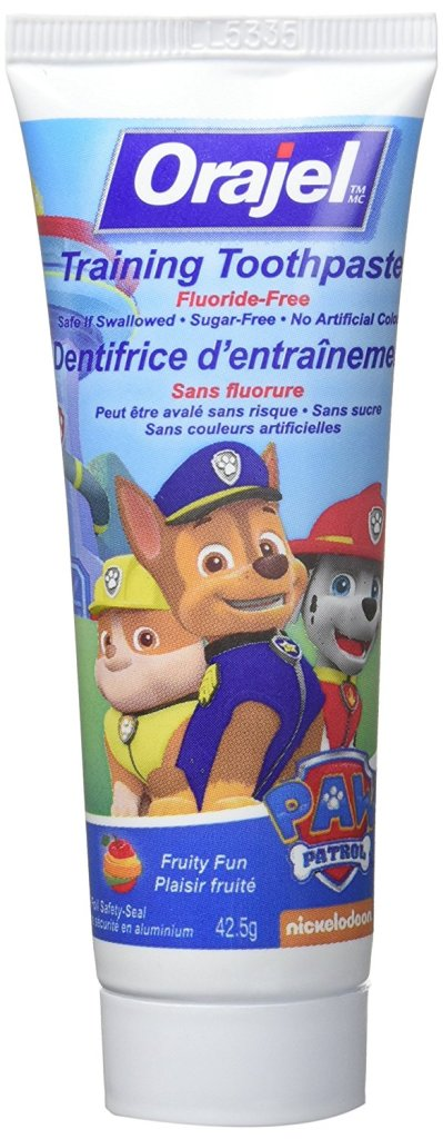 Orajel PAW Patrol Training Toothpaste for kids