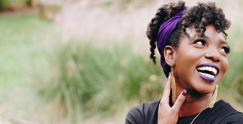 Maquillage spécial pour femmes noires