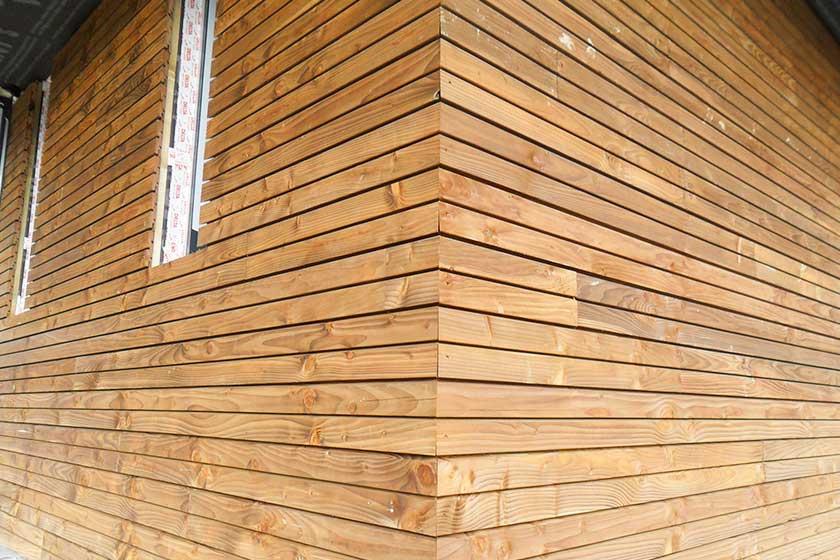 Bois Douglas Pour Bardage Bois Claire Voie Nature Bois Concept