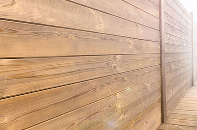 cloture palissade bois