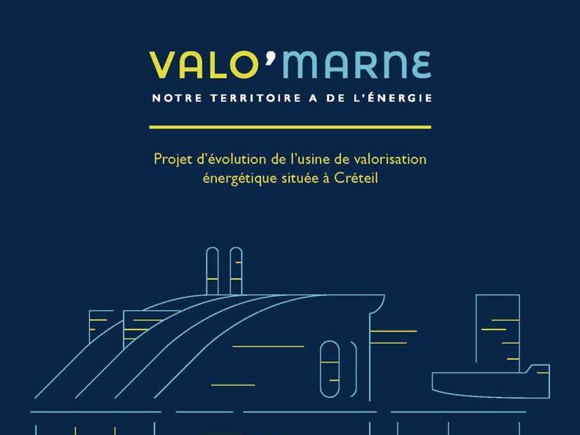 Consultation sur le projet d'évolution de l'usine de valorisation énergétique Valo'Marne