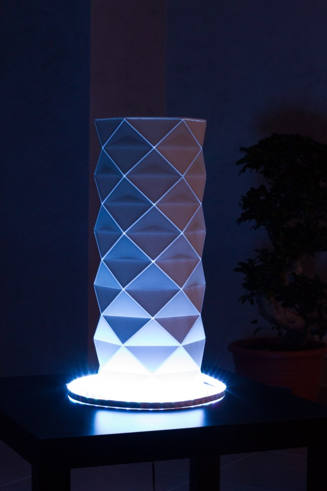 Prototype de Lampe Led Digitale