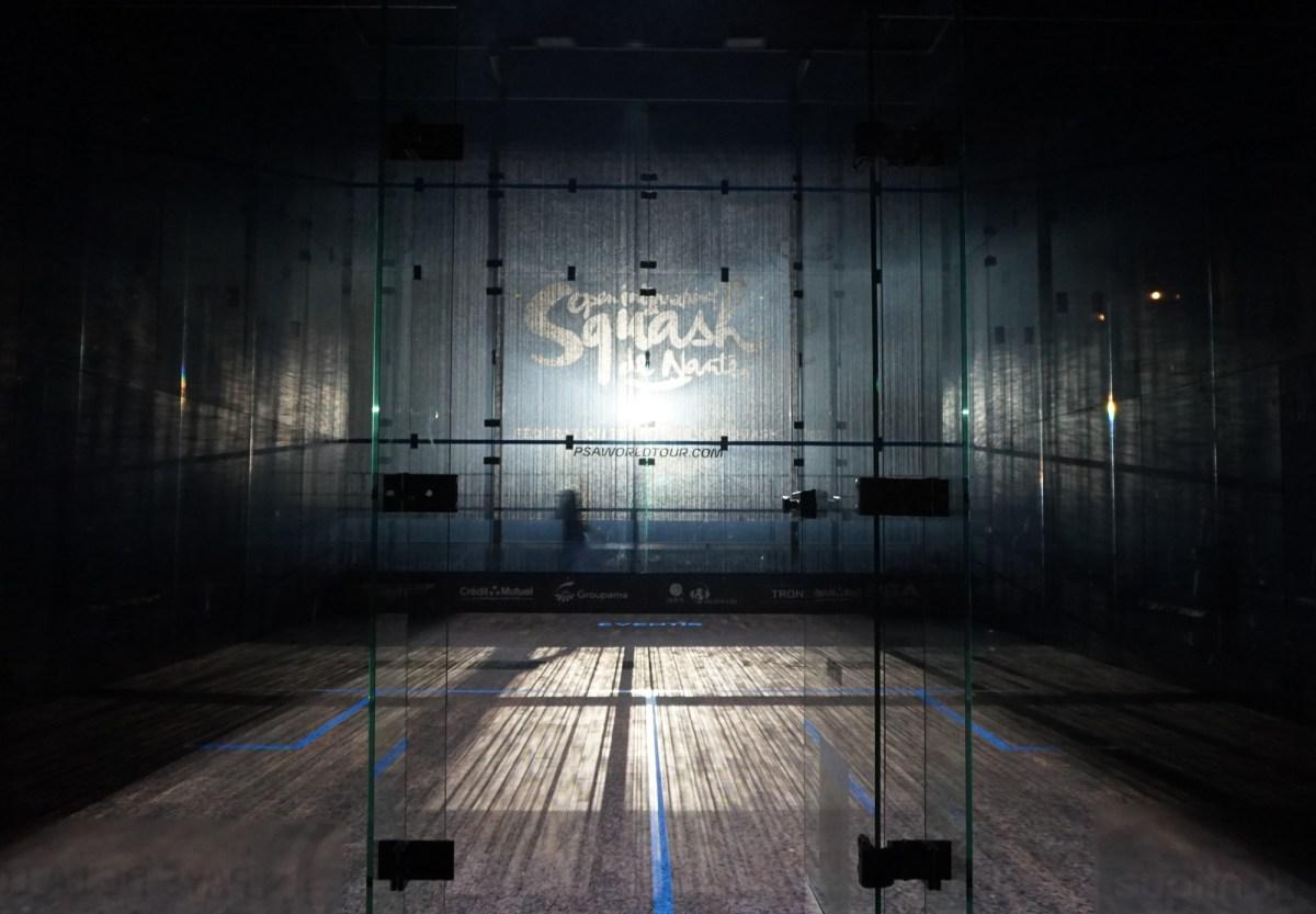 Mapping vidéo - Squash Nantes - la cité des congrès
