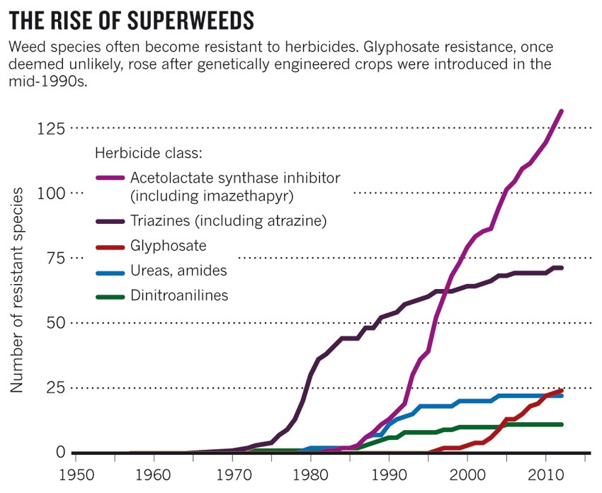 The Rise of Superweeds