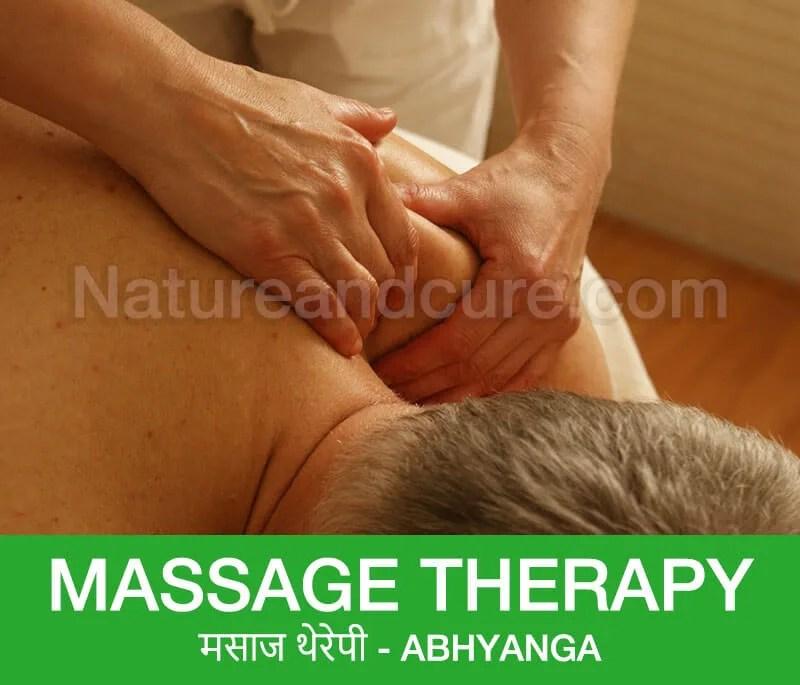 Massage Therapy - मसाज थेरेपी - Abhyanga