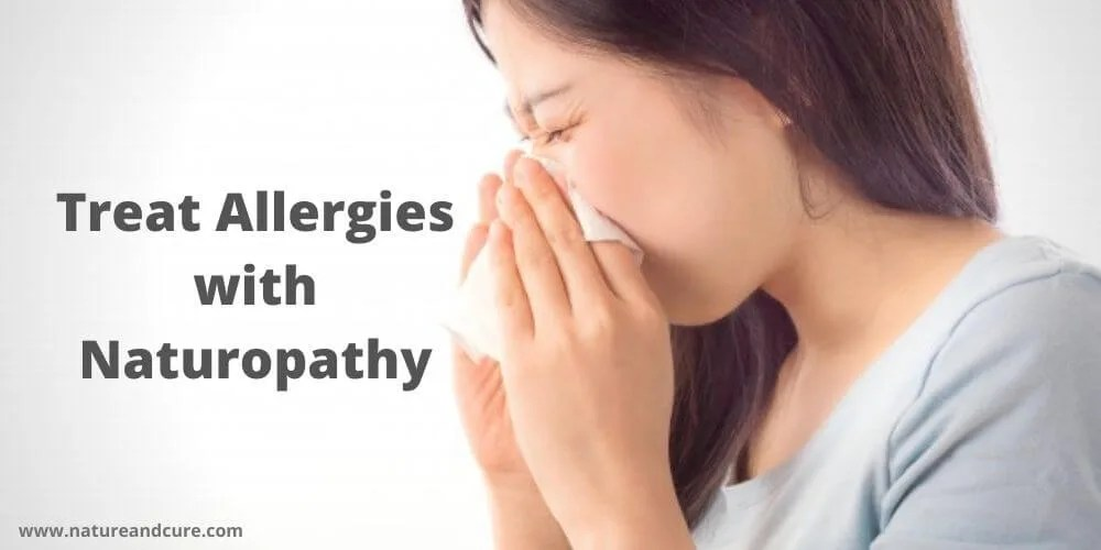 Treat Allergies with Naturopathy