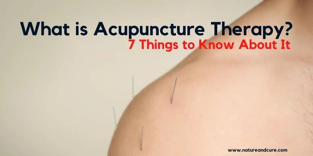 Acupuncture Therapy needles