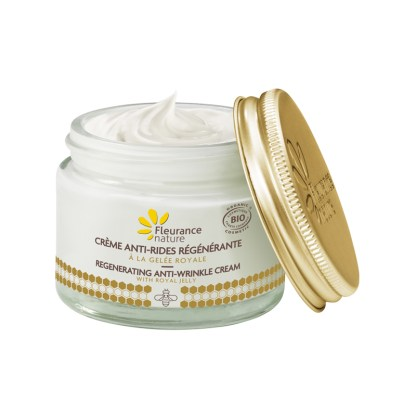 Organic Royal Jelly Anti Wrinkle Face Cream by Fleurance Nature