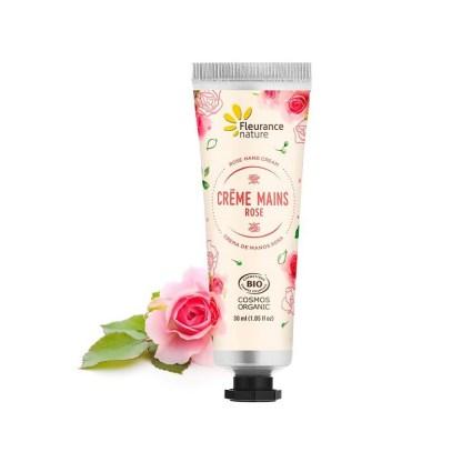 Organic Rose Hand Cream by Fleurance Nature
