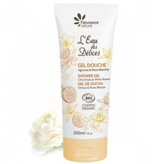 Organic Citrus Flowers Shower Gel by Fleurance Nature