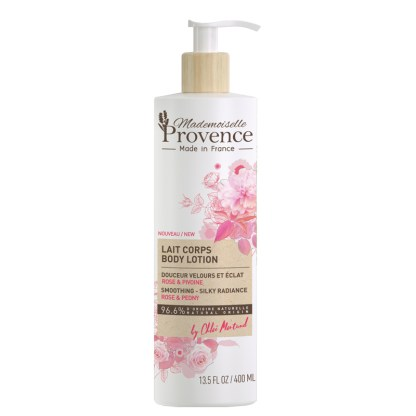 Natural Rose Peony Body Lotion by Mademoiselle Provence