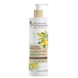 Natural Verbena Lemon Body Lotion by Mademoiselle Provence