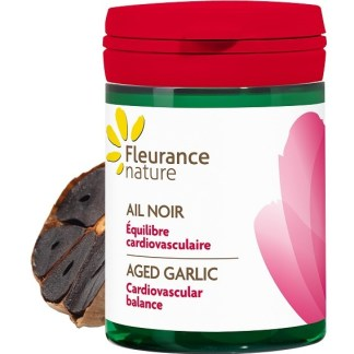 Organic Black Garlic Supplement by Fleurance Nature