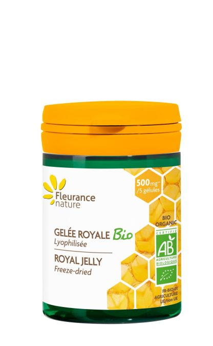 Organic Royal Jelly Capsules by Fleurance Nature