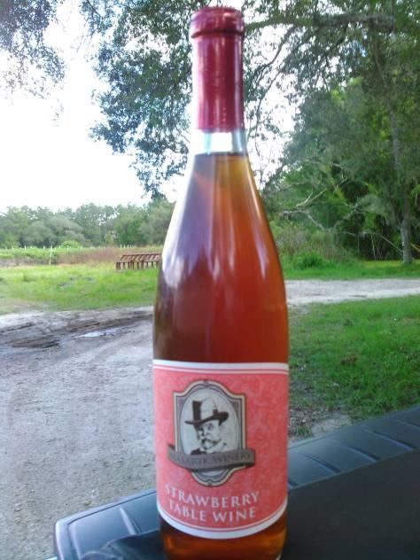 Strawberry Wine at Masaryk Winery