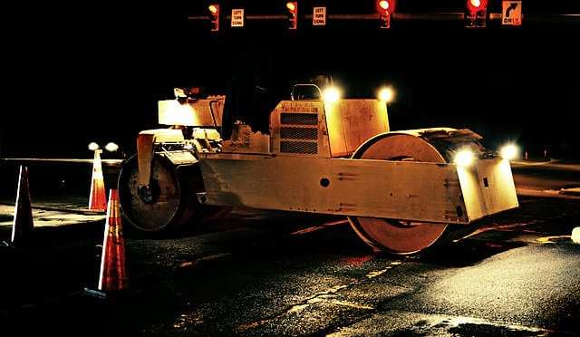 Night_paving_01_roller By Gregory F. Maxwell