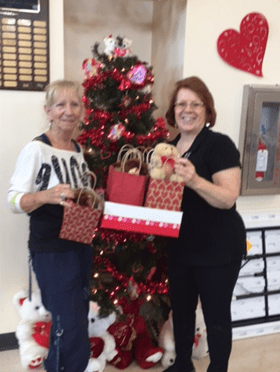Zumba Citrus Donates 297 Teddy Bears for Citrus County Meals on Wheels Recipients