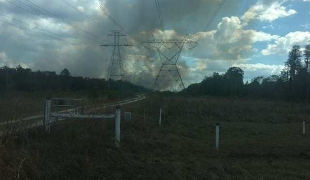 Two Brush Fires in Pasco County