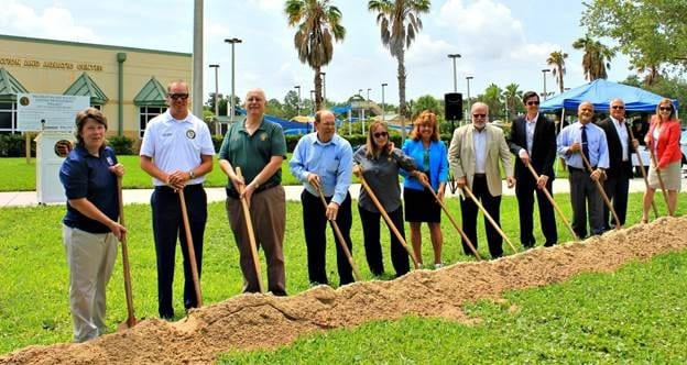 Groundbreaking for New Port Richey Recreation & Aquatic Center