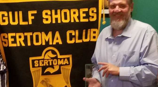 Sertoma Volunteer Wins Service to Mankind Award