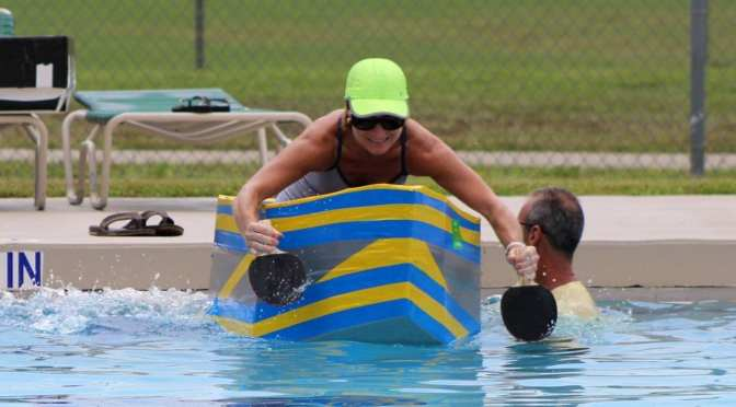 Pasco County 3rd Annual Cardboard Boat Race 7/15