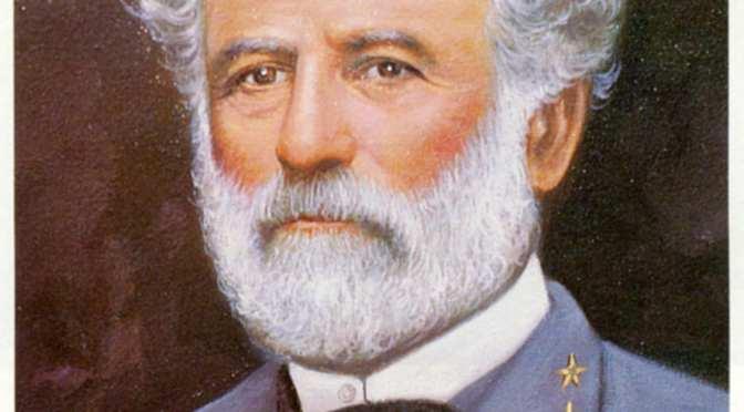 General Robert E. Lee portrayed by Al Stone Nov. 17