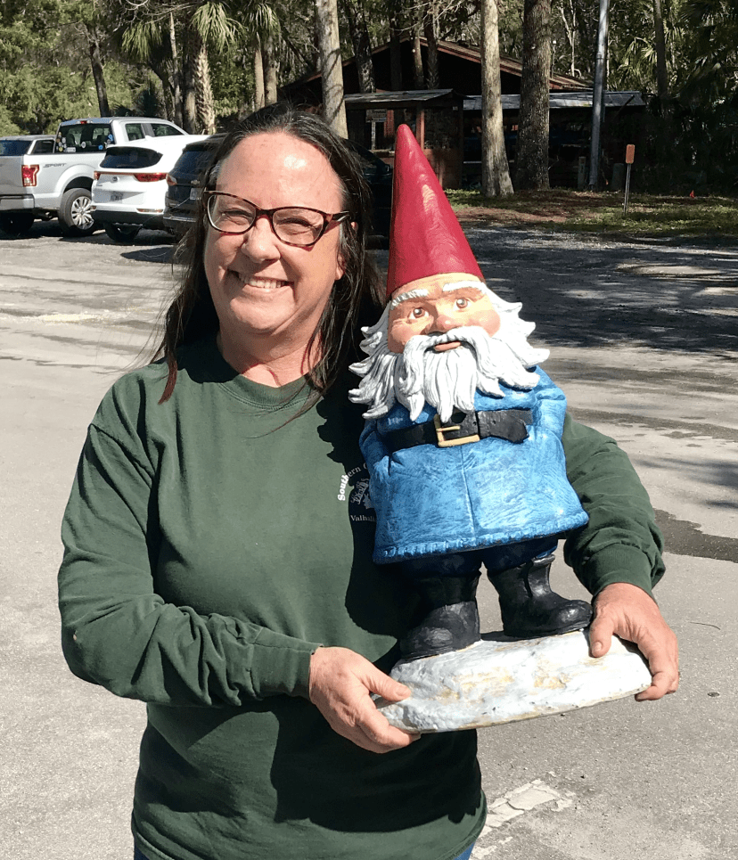 diane bedard and roaming gnome