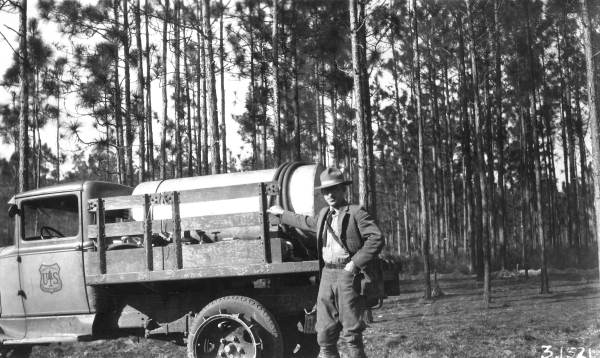 1940s US Forest Service truck