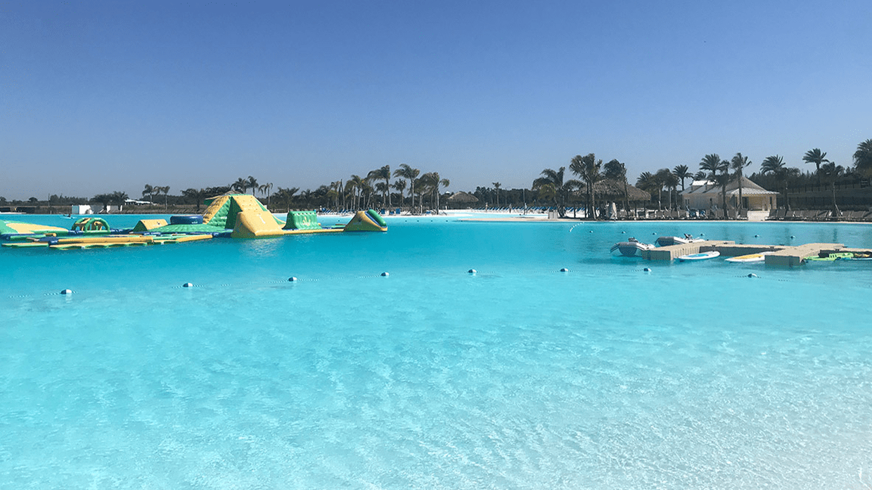 Epperson Ranch opened with the Crystal Lagoon in Wesley Chapel.