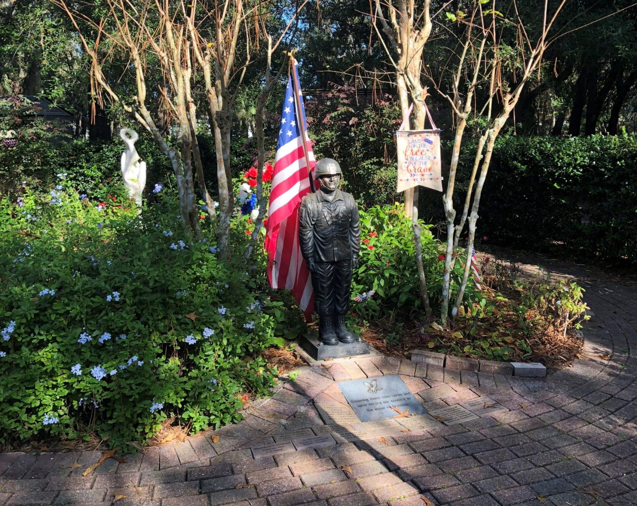 military garden