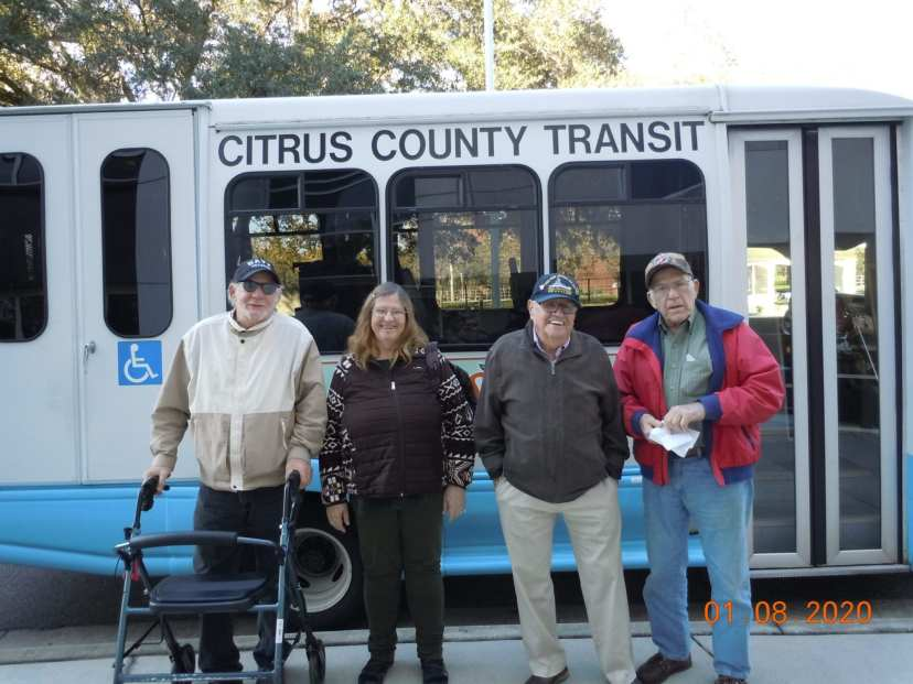 Transit Services is now adding transport to the VA hospital in Tampa.
