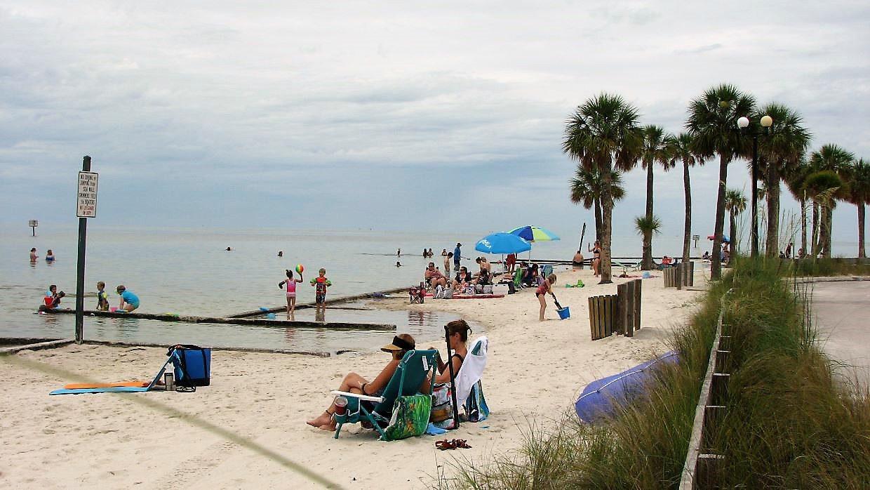 Beach at Pine Island
