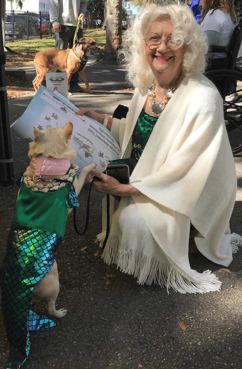 mermaid and merdog