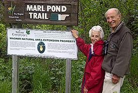 Peter and Deirdre Demulder, Wagner Bog Conservation Area, AB (Photo by Jill Demulder)