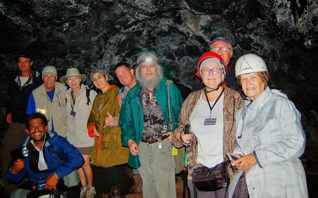 Intrepid cave explorers!
