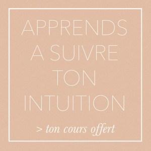 Cours Comment suivre son intuition
