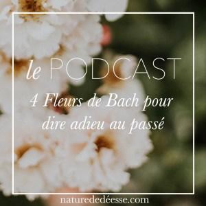 4 fleurs de Bach pour dire adieu au passé, tes blessures et tes vieilles habitudes - Podcast Nature de déesse