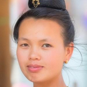 Nord Vietnam. Ethnie Thai