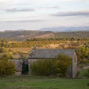 Causse Méjean-Lozère-France