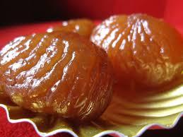 recette de marrons glaçés