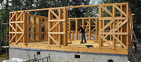 Maison En Bois Construction Rapide