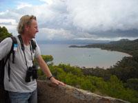 Vincent Blondel Guide naturaliste à Porquerolles