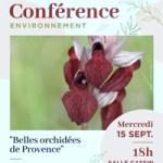Conférence : Belles orchidées de Provence