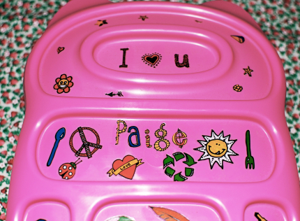 Pink Bento Lunch Box