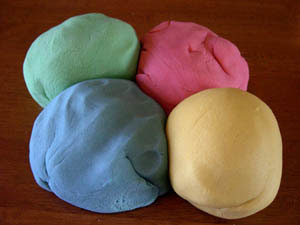 What the dough should look like.
