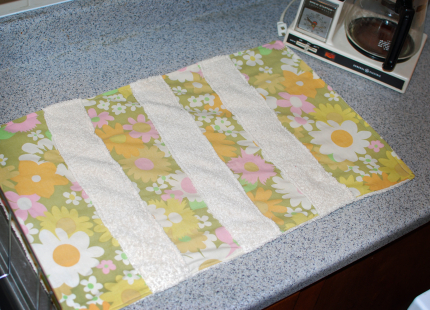 Homemade Dish Mat