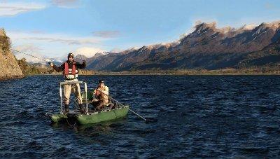 inflatable pontoon boats river