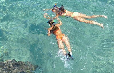 snorkeling for weight loss