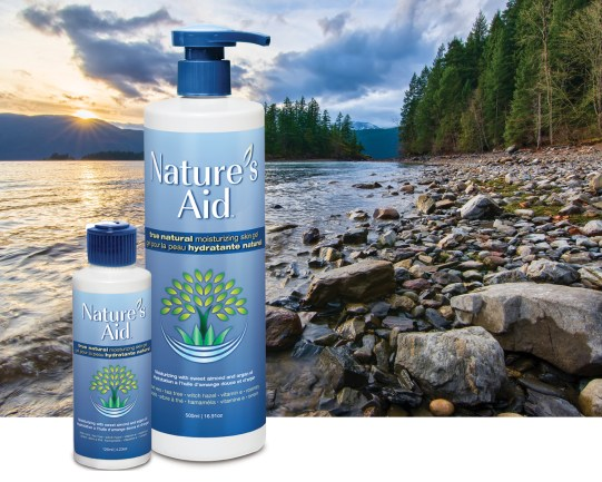 Moiturizing Skin Gel - Harrison Hot Spring Canada Background
